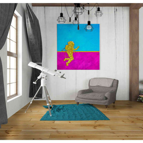 Image of 'Hallo Spaceboy II' Craig Snodgrass, Canvas Wall Art,26 x 30