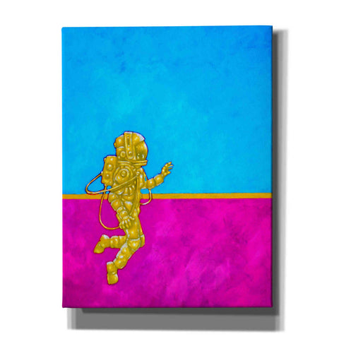 Image of 'Hallo Spaceboy II' Craig Snodgrass, Canvas Wall Art,Size C Portrait
