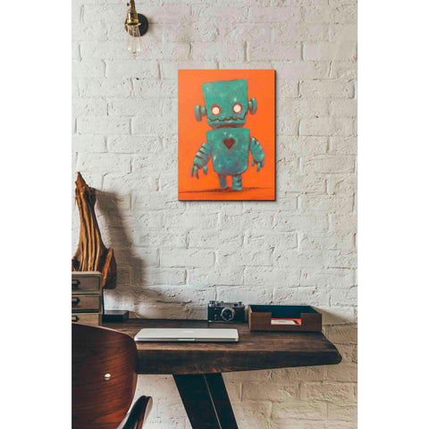 Image of 'Frank-o-bot' Craig Snodgrass, Canvas Wall Art,12 x 16
