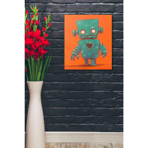 Image of 'Frank-o-bot' Craig Snodgrass, Canvas Wall Art,20 x 24