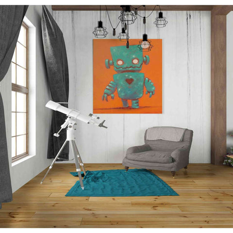 Image of 'Frank-o-bot' Craig Snodgrass, Canvas Wall Art,26 x 30