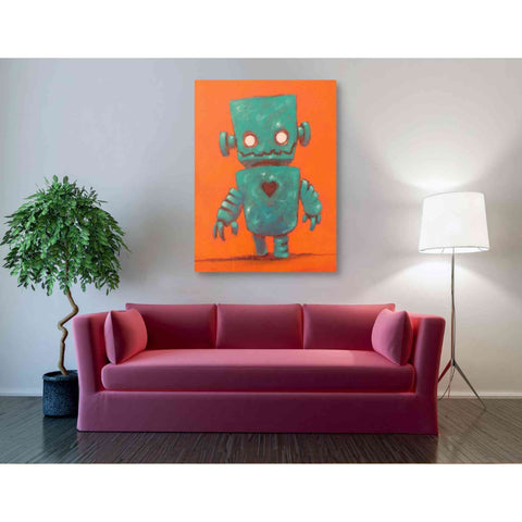 Image of 'Frank-o-bot' Craig Snodgrass, Canvas Wall Art,40 x 54
