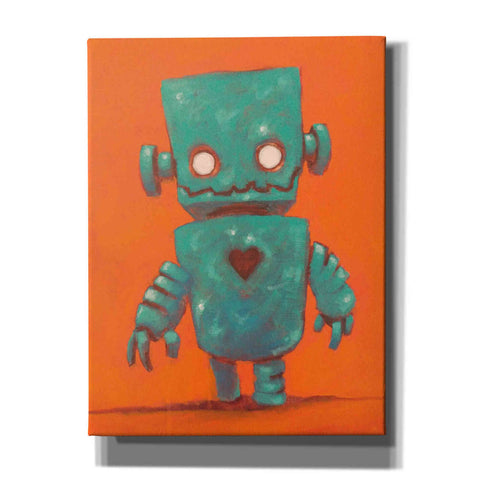 Image of 'Frank-o-bot' Craig Snodgrass, Canvas Wall Art,Size C Portrait
