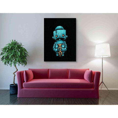 Image of 'We Bot Painting 17' Craig Snodgrass, Canvas Wall Art,40 x 54