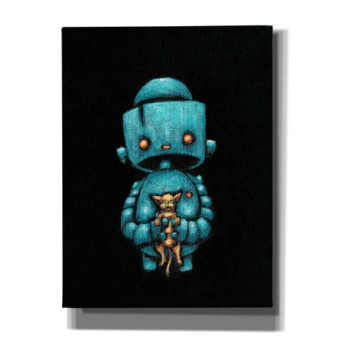 Image of 'We Bot Painting 17' Craig Snodgrass, Canvas Wall Art,Size C Portrait