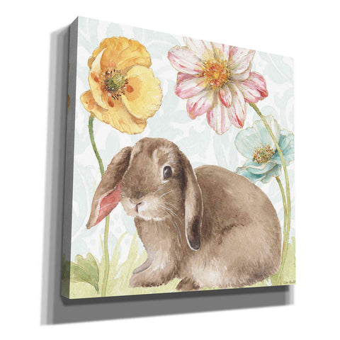 Image of 'Spring Softies Bunnies III' by Lisa Audit, Canvas Wall Art