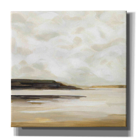'Cloudy Coast I' by Victoria Borges, Canvas Wall Art