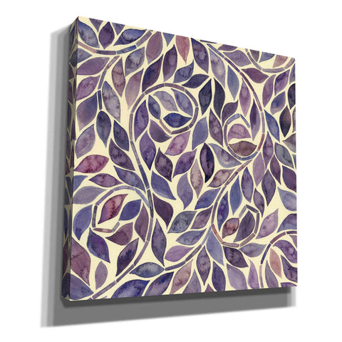 Image of 'Amethyst Swirls IV' by Grace Popp, Canvas Wall Glass