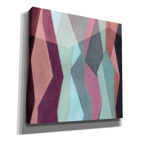 Image of 'Color Block Pattern IV' by Grace Popp, Canvas Wall Glass