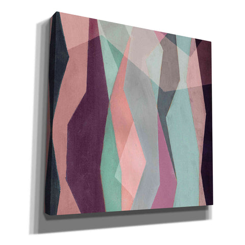 'Color Block Pattern III' by Grace Popp, Canvas Wall Glass