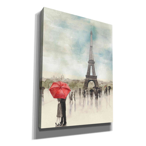 Image of 'Rainy Day Lovers I' by Grace Popp, Canvas Wall Glass