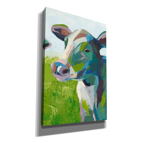 'Painterly Cow III' by Grace Popp, Canvas Wall Glass
