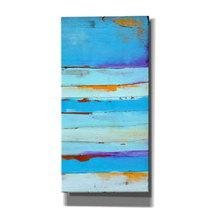 'Blue Jam II' by Erin Ashley, Canvas Wall Art