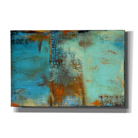Image of 'Deja Blue' by Erin Ashley, Canvas Wall Art