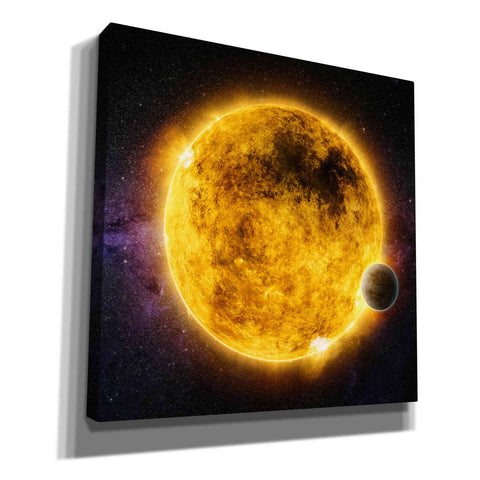 Image of 'Older Sun-Like Star,' Canvas Wall Art