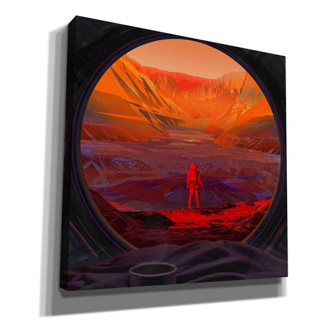 Image of 'On Mars,' Canvas Wall Art