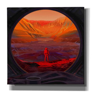 'On Mars,' Canvas Wall Art
