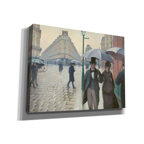 'Paris Street; Rainy Day' by Gustave Caillebotte, Canvas Wall Art