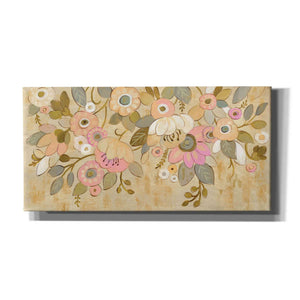 'Decorative Pastel Flowers' by Silvia Vassileva, Canvas Wall Art