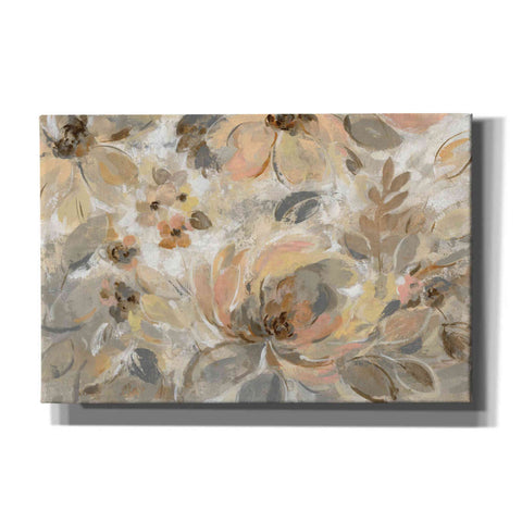 Image of 'Ivory Floral' by Silvia Vassileva, Canvas Wall Art