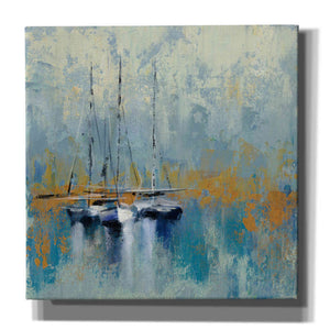 'Boats in the Harbor III' by Silvia Vassileva, Canvas Wall Art