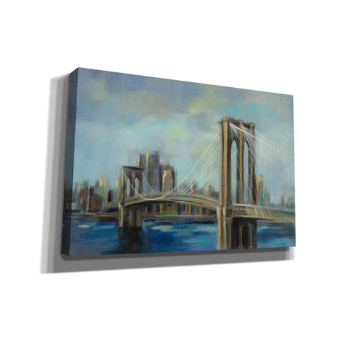 'Brooklyn Bridge' by Silvia Vassileva, Canvas Wall Art