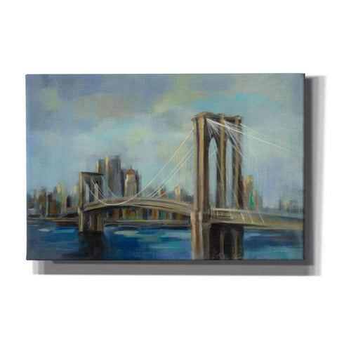 Image of 'Brooklyn Bridge' by Silvia Vassileva, Canvas Wall Art
