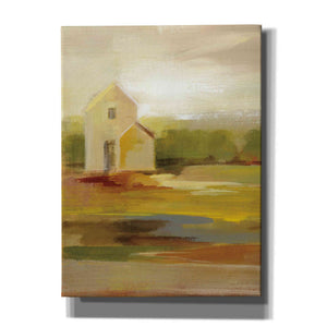 'Hillside Barn I' by Silvia Vassileva, Canvas Wall Art