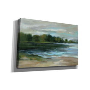 'Lake Afternoon Stillness' by Silvia Vassileva, Canvas Wall Art