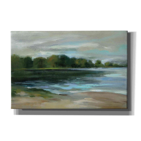 Image of 'Lake Afternoon Stillness' by Silvia Vassileva, Canvas Wall Art