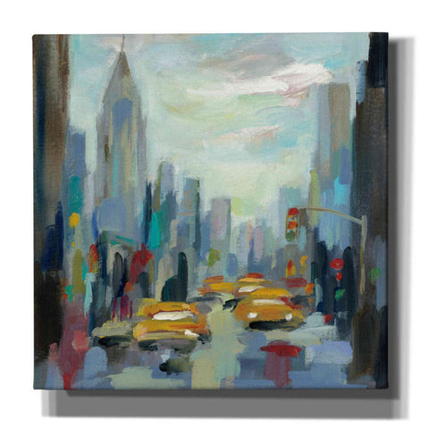 'Manhattan Sketches I' by Silvia Vassileva, Canvas Wall Art
