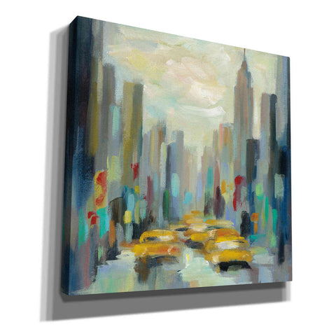 Image of 'Manhattan Sketches II' by Silvia Vassileva, Canvas Wall Art