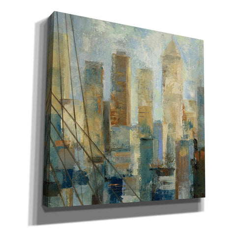Image of 'Manhattan Sketches V' by Silvia Vassileva, Canvas Wall Art