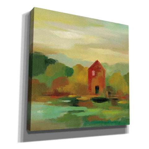 Image of 'October Farm II' by Silvia Vassileva, Canvas Wall Art