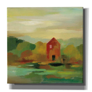 'October Farm II' by Silvia Vassileva, Canvas Wall Art