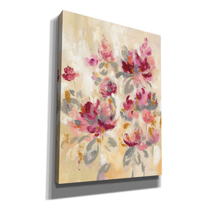 'Floral Reflections II' by Silvia Vassileva, Canvas Wall Art