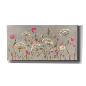 'Delicate Garden' by Silvia Vassileva, Canvas Wall Art