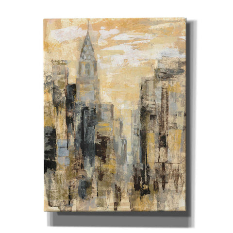 Image of 'Manhattan Gray and Gold I' by Silvia Vassileva, Canvas Wall Art