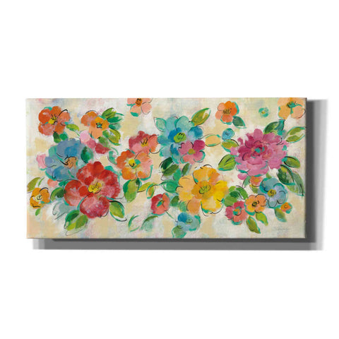 Image of 'Playful Floral Trio I' by Silvia Vassileva, Canvas Wall Art