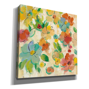 'Playful Floral Trio II' by Silvia Vassileva, Canvas Wall Art