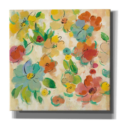 Image of 'Playful Floral Trio II' by Silvia Vassileva, Canvas Wall Art