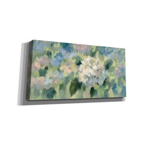 'Hydrangea Mosaic' by Silvia Vassileva, Canvas Wall Art