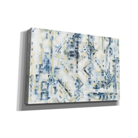 Image of 'Scattered Indigo' by Silvia Vassileva, Canvas Wall Art