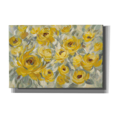 Image of 'Yellow Roses' by Silvia Vassileva, Canvas Wall Art