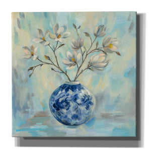 'Chinoiserie and Branches' by Silvia Vassileva, Canvas Wall Art