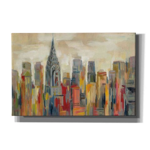 Image of 'Manhattan' by Silvia Vassileva, Canvas Wall Art