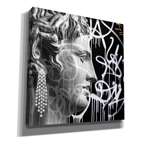 'Graffiti Bust 2' by Karen Smith, Canvas Wall Art