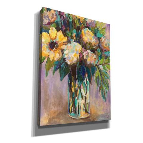 Image of 'Summmer Floral' by Jeanette Vertentes, Canvas Wall Art