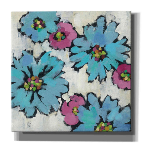 Image of 'Graphic Pink and Blue Floral III' by Silvia Vassileva, Canvas Wall Art