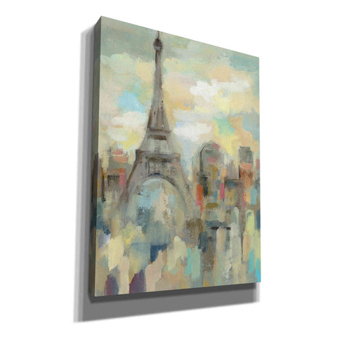 Image of 'Paris Impression' by Silvia Vassileva, Canvas Wall Art